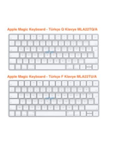 Apple Magic Keyboard - Turkish F-Keyboard-Apple